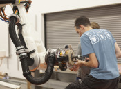 Estimating the impact of robots on productivity and employment