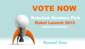 Robot Launch 2015 – Robohub Readers' Pick round one