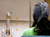 Teaching a brain-controlled robotic prosthetic to learn from its mistakes