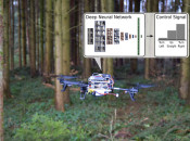 Drones recognise and follow forest trails in search of lost people