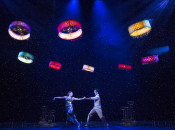 Flying robots perform 100th show on Broadway, using new localization technology and algorithms
