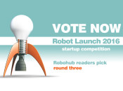 Robot Launch 2016 – Robohub Readers' Pick round three