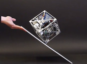Cubli - A cube that can jump up, balance, and walk across your desk